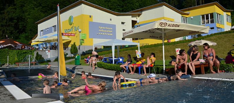 b777b66e05 Vodný raj Vyhne - Aquapark